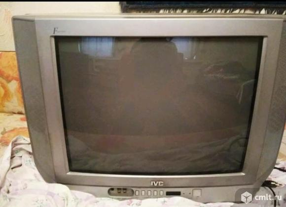 Телевизор кинескопный цв. JVC