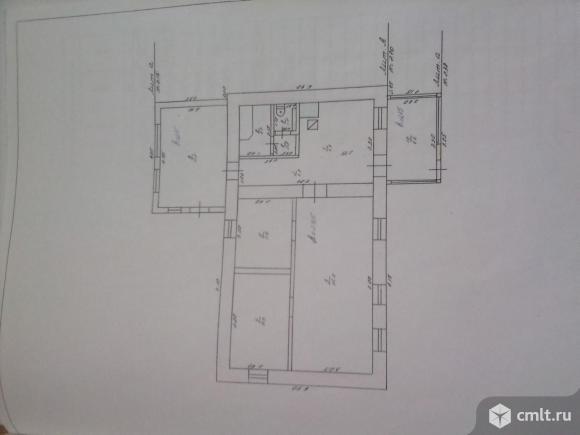 Продам дом 78,4 кв.м. Рядом с домом пруд и лес. Фото 14.