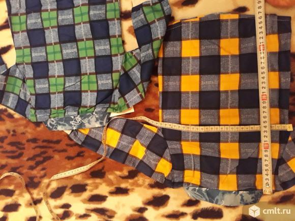 Две новые рубашки Том и джерри, размер L (74-80). Danybeyhloe. обхват груди 54. длина от п. Фото 3.