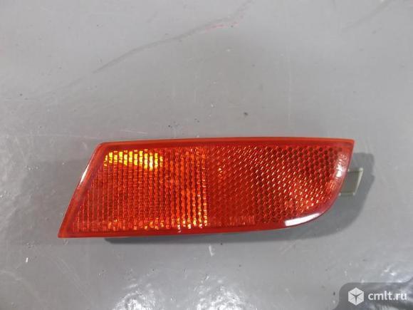 Отражатель бампера заднего  правый  NISSAN NOTE  е11 06-13 б/у а36 26560WA000 26560WA90A. Фото 1.