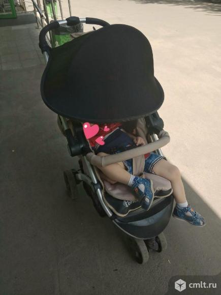 Солнцезащитный козырек на коляску. Фото 1.
