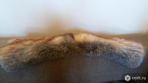 Воротник натуральная лиса