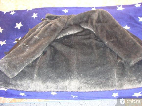 Шуба мужская искусственный мех. Фото 4.