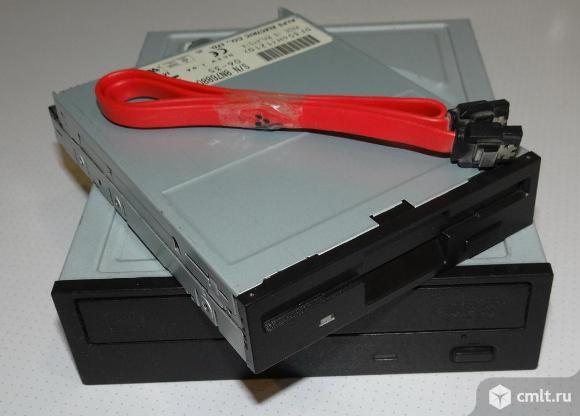 Привод DVD+/-RW Pioneer DVR-219LBK + Кабель SATA - SATA. Фото 1.