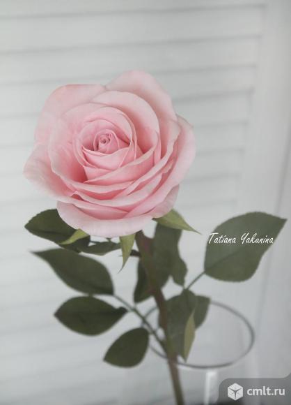"""Интерьерный букет из роз """" Розовая дымка"""""""