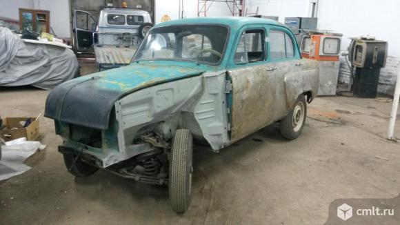 Москвич 407 - 1961 г. в.. Фото 1.