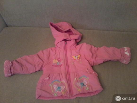 Продам демисезонные курточки на девочку 2-3 лет. Фото 2.