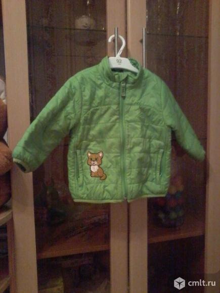 Продам демисезонные курточки на девочку 2-3 лет. Фото 1.