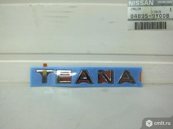 Надпись TEANA  крышки багажника NISSAN TEANA 08-13. Фото 1.