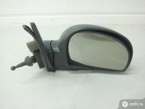 Зеркало правое механ. трос / чёрное HYUNDAI ACCENT. Фото 1.