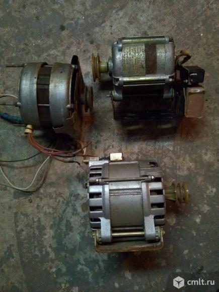 Двигатель для стиральной машинки бош также от советских машинок. Фото 2.