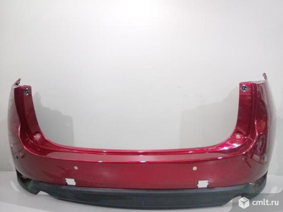 Бампер задний под паркт MAZDA CX-5 17-  б/у KBYB5022XB8H 4*. Фото 1.