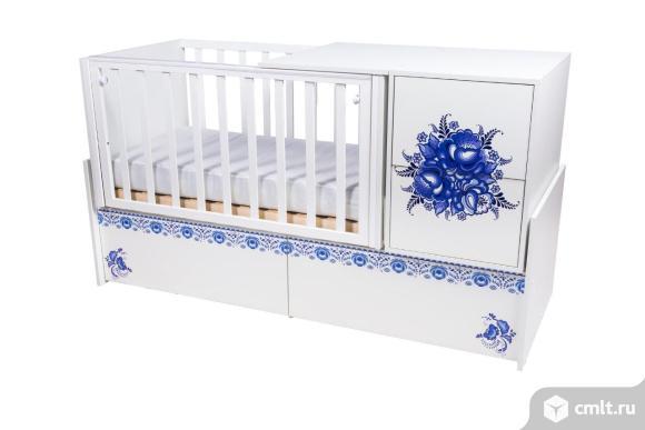 Кроватка КТП — Гжель