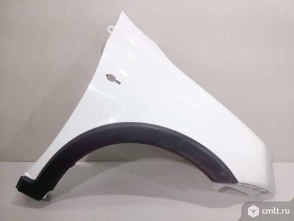 Крыло правое + накладка LADA KALINA CROSS 13- б/у 21900840301050 21940821211490 4*. Фото 1.