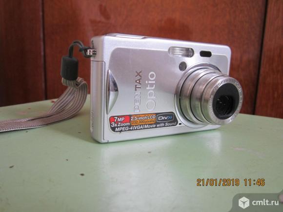 Фотоаппарат цифровой PENTAX. Фото 1.