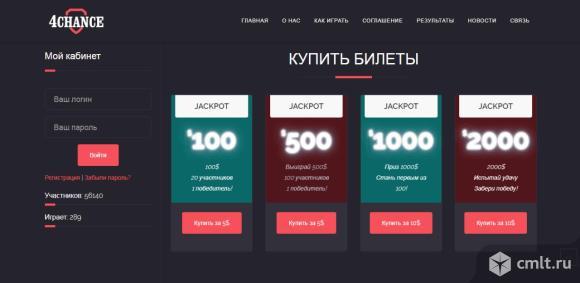 """Продам интернет проект """"Экономическая игра"""". Фото 1."""