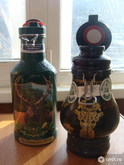 Стеклянные кувшины из под пива. Фото 4.