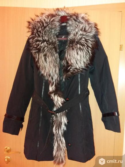 Продам зимнее пальто пихору с чернобуркой