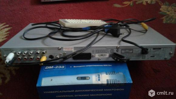 DVD плеер BBK + микрофон