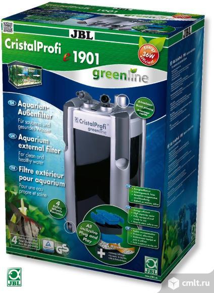 Внешний фильтр JBL CristalProfi e1901 greenline -от 300 до 800л, с наполнителями и аксессуарами. Фото 1.