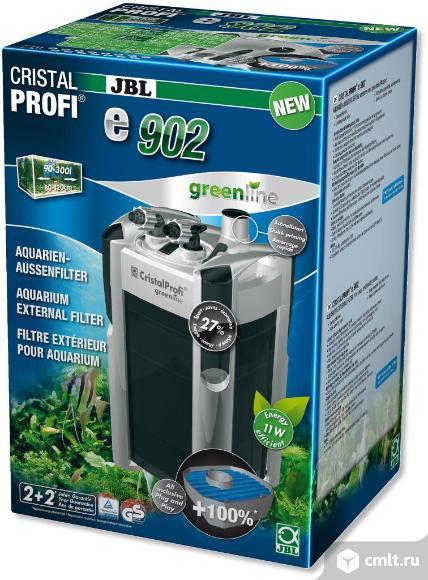 Внешний фильтр JBL CristalProfi e902 greenline+ - для аквариумов объемом 90-300л (JBL6028200). Фото 1.