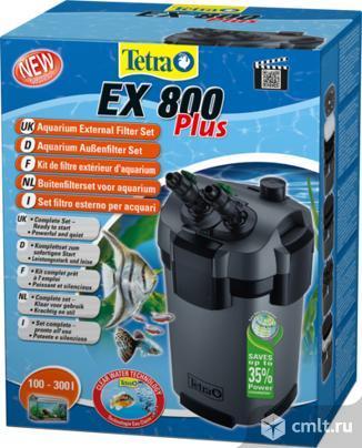 Фильтр внешний Tetratec EX800 Plus 800л/ч до 300л. Фото 1.