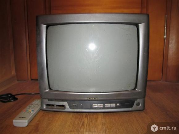 Телевизор кинескопный цв. Рубин