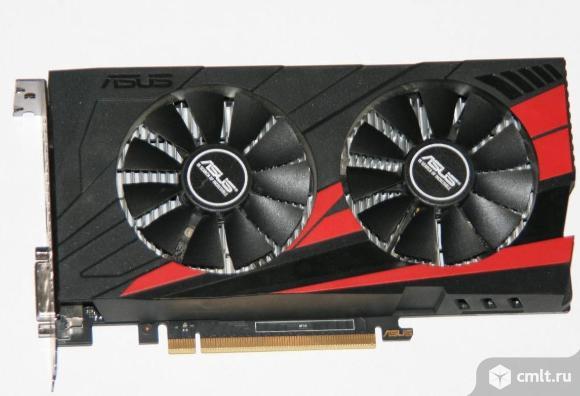 Видеокарта Asus GeForce GTX1050 Ti 4Gb, гарантия 2 года, документы, упаковка,  продаю.. Фото 3.