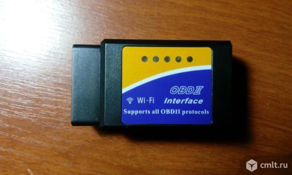 ELM327 WiFi OBD2 автомобильный сканер v1.5. Фото 1.