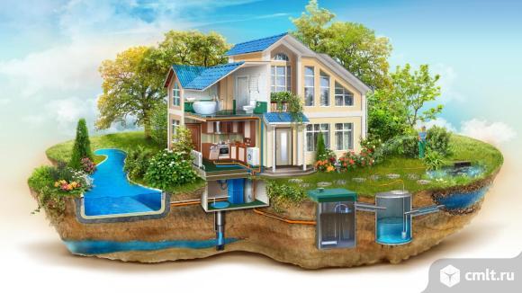 Провести водоснабжение в доме Тамбов. Фото 3.