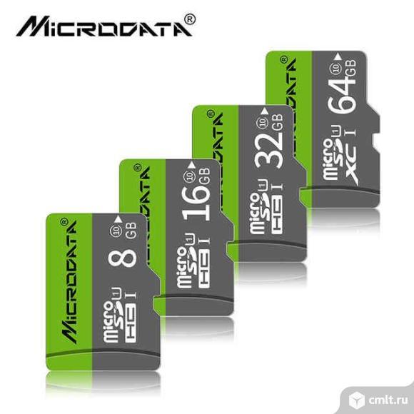 Карта памяти MicroSD Microdata 32GB. Фото 1.