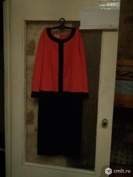 Трикотажное платье. Фото 1.