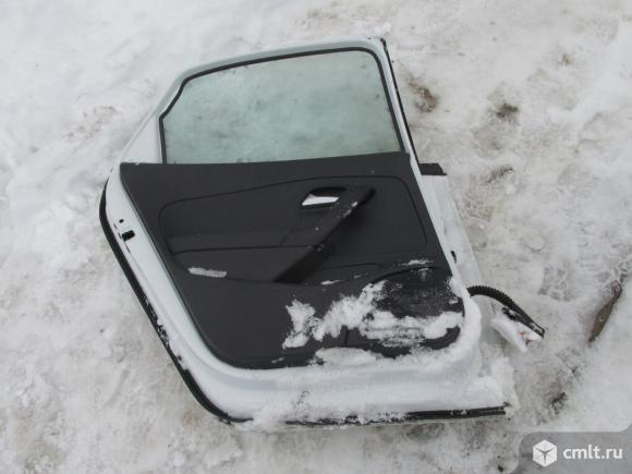 Volkswagen Polo Sedan фольксваген поло Дверь задняя левая БУ номер 6RU833055D