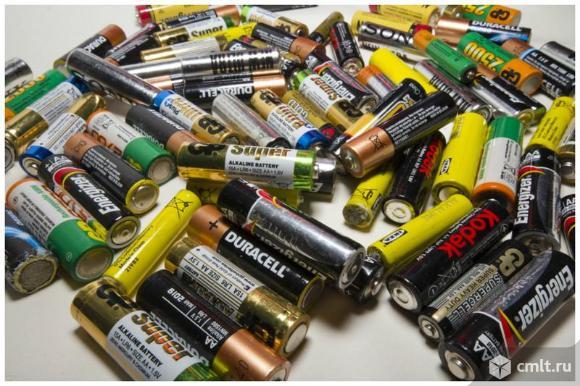 Батарейки. Фото 2.
