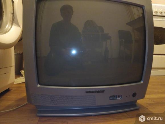 Телевизор кинескопный цв. Горизонт