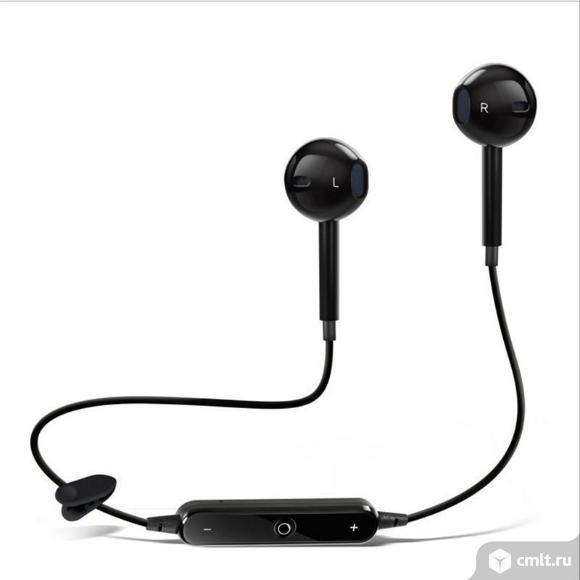 Bluetooth наушники Sports Headset S6. Фото 1.