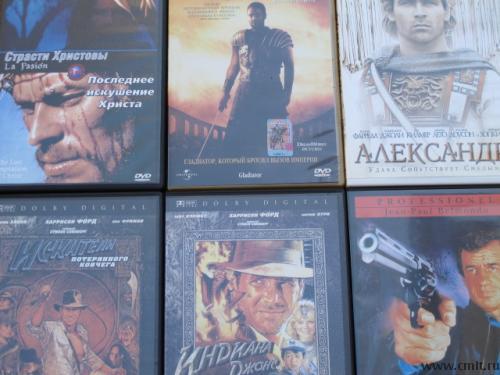 DVD c фильмами. Фото 1.