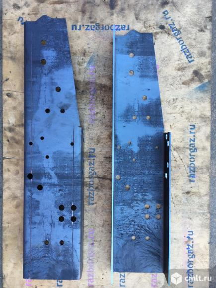 Вставки в раму Соболь под задний кронштейн кабины. Фото 1.