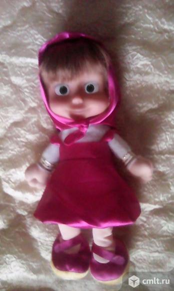 Кукла Маша из мультфильма. Фото 1.