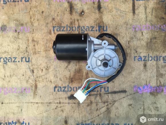 Мотор стеклоочистителя Газель Соболь. Фото 1.