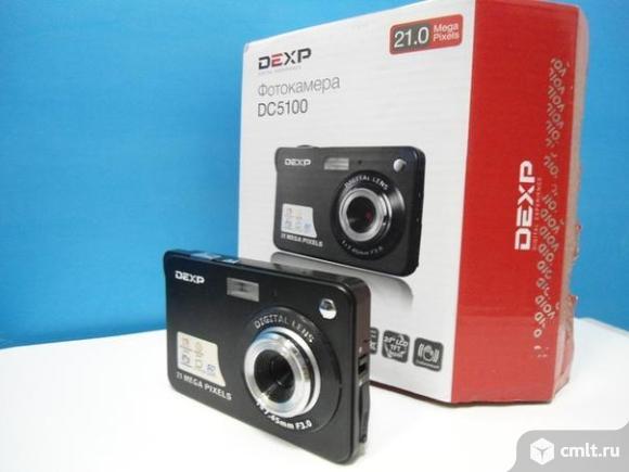 Фотоаппарат цифровой Фотоаппарат dexp. Фото 1.