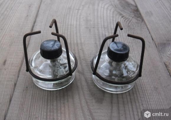 Спиртовка (горелка) с металлической оправой Новая
