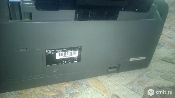 Продам цветной принтер epson C67. Фото 5.