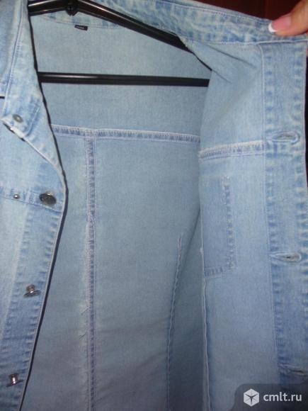 Джинсовая рубашка. Фото 3.