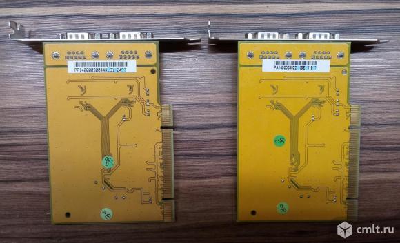 Двухпортовая плата расширения RS232 с интерф. PCI. Фото 3.