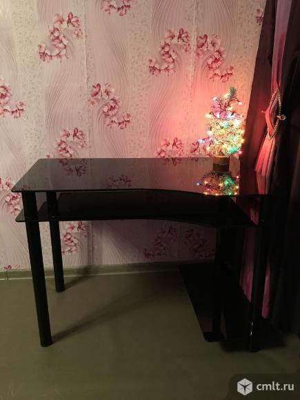 Стол компьютерный модель NOIR 01. Фото 2.