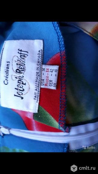 Легкое летнее платье / сарафан 52- 54р длинное в отличном состоянии, без дифектов.. Фото 3.