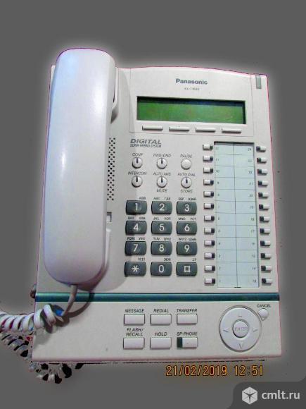 Мини АТС Panasonic KX-TDA30 + 1 системный телефон  KX-T7636