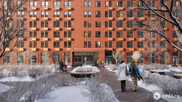 1-комнатная квартира 43,1 кв.м. Фото 13.