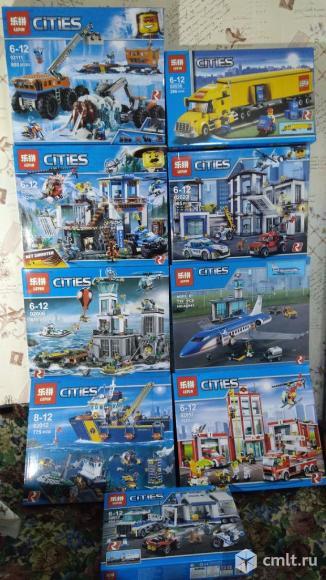 Новые наборы Lepin City (аналог Лего). Фото 1.